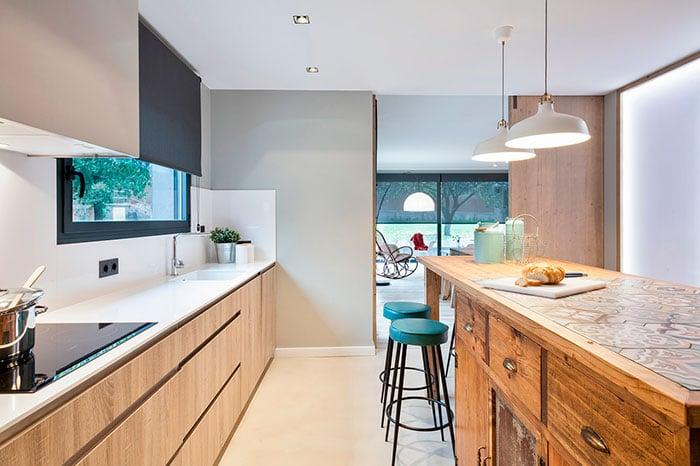 Fotografía de interiores en cocinas