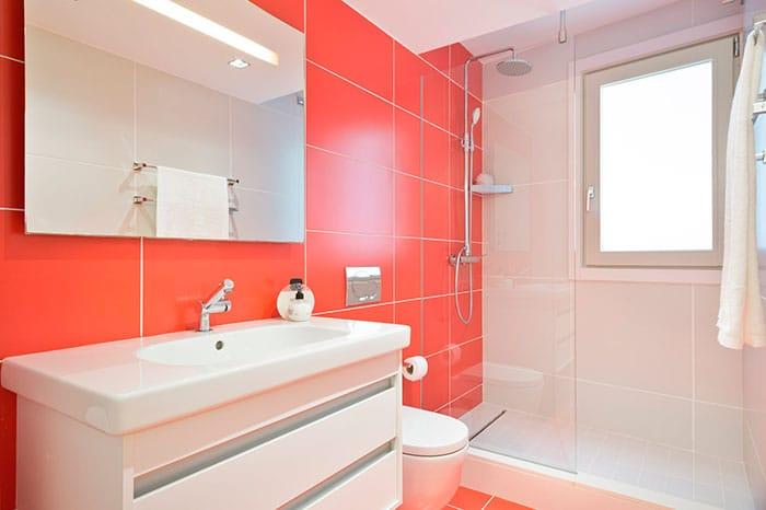 baños coloridos